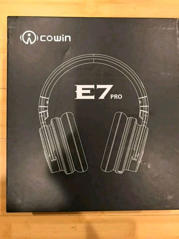 5335a070a0a Used Cowin E7 Pro Active Noise Cancelling Headphones for sale in Rochester  Hills - letgo