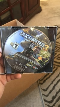 Uncharted 3 PS3 game disc