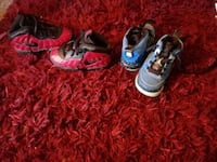 two pairs of Nike shoes Austin, 78723