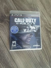 PS3 Call of Duty  game