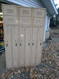 Vintage lockers Garden City, 48135