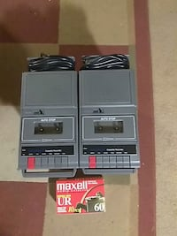 Two cassette tape decks and tapes good condition El Paso, 79934