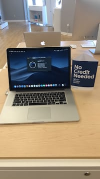 "Macbook Pro 15"" i7 16GB RAM 1 TB SSD with No Credit Financing Available Lafayette, 70503"