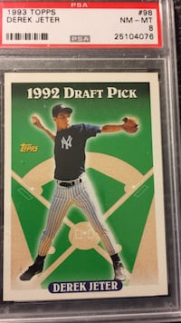 1993 Deeek Jeter Rookie  Sterling Heights, 48312