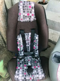 black and pink floral car seat Paramount, 90723