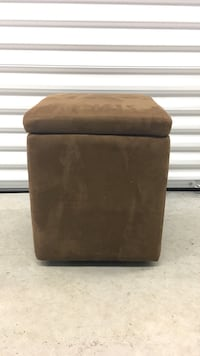 Brown Footstool with Storage Linn Creek, 65052