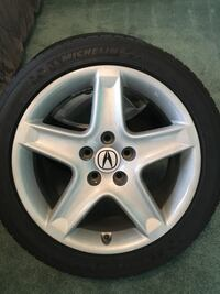 Acura TL wheels Michelin pilot sport as/3 17x [PHONE NUMBER HIDDEN] Mississauga, L5N 2H4