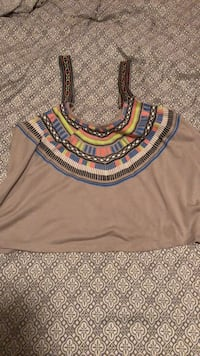 Colorful tank top, Size Large  Fresno, 93727