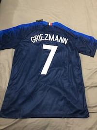 Griezmann France World Cup 2018 Jersey Authentic New York, 11369