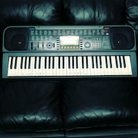 PianoCasio black and white electronic keyboard  .   Vaughan, L4L 2C5