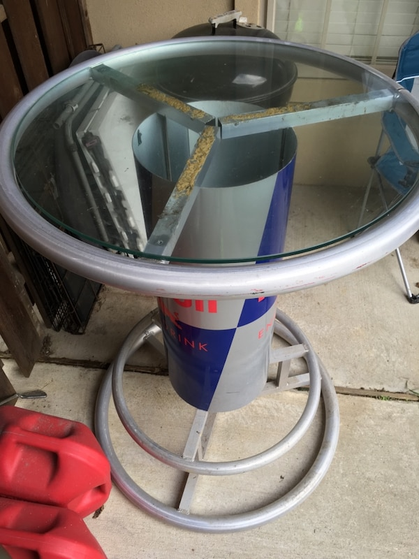 Used red bull bar table for sale in baton rouge letgo red bull bar table watchthetrailerfo
