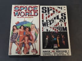 Spice Girls VHS