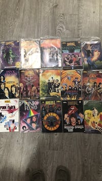 Collectable Rock n Roll comic books