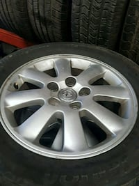 Toyota camry rims Nd tires 16 inch Mississauga