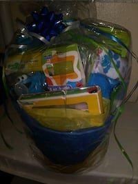 Boys Sesame Street Baby Shower Gift Basket Midwest City, 73110