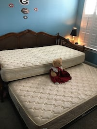 Trundle bed/mattresses, excellent condition North Augusta, 29860