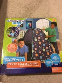 BNIB Discovery Kids space pop up tent