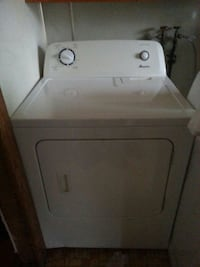 white front-load clothes dryer 53 mi