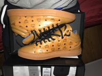 Authentic MCM Canvas Sneakers