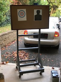 Handmade mobile air soft target stand. Fairfax, 22030