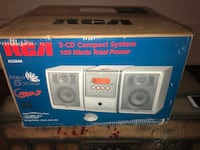 BOOM BOX - 5 CD Changer - BRAND NEW! Burbank, 91505