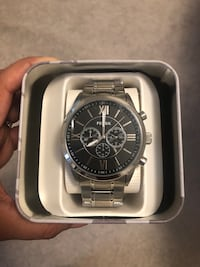 NEW FOSSIL Men's Chronograph Stainless Steel Watch  Markham, L3R