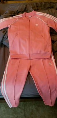 pink zip-up jacket and pants 3732 km