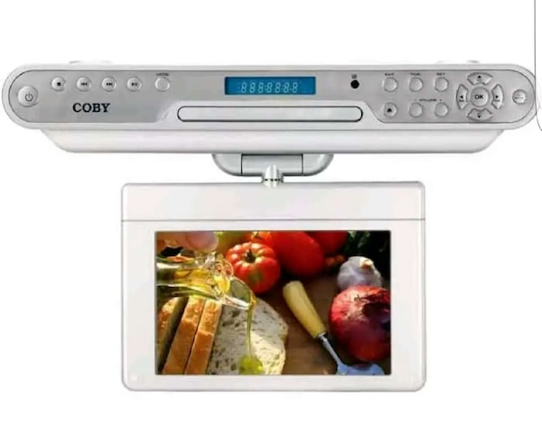 Used Coby 10.2in Under the Cabinet DVD/TV/RADIO for sale ...