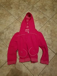 Girls pink carters jacket with hood size 6 like ne Toms River, 08753