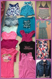 Girls Clothing Lot Size 12-14 Langley, V2Y