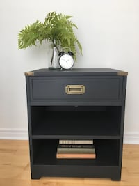 Brown wooden cabinet with shelf Whitby, L1M 1K8