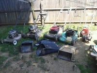 Lot of 4 mowers and Little Wonder gas edger Gaithersburg, 20877