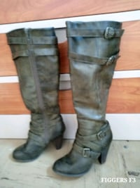 ISIDORE KNEE HIGH LEATHER BOOTS