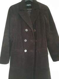 JONES of NY- chocolate brown double breasted coat Whitby, L1R 3C2