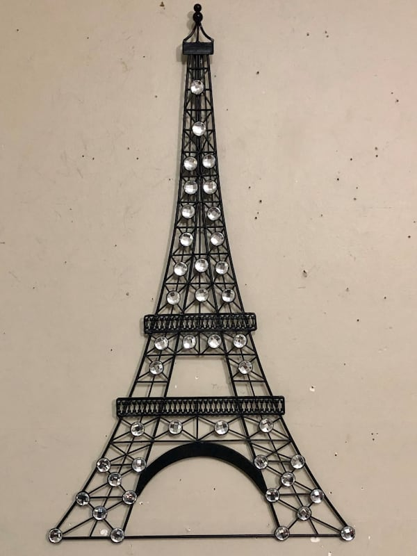 Bling Paris Eiffel Tower! 31x18 33ec4255-ce5c-43d8-b815-4459e2f764c5