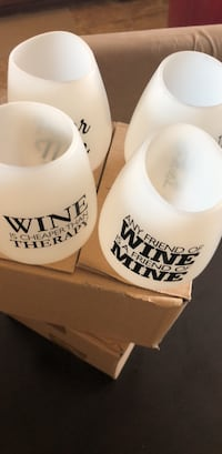 Wine tumbler plastic 4 pc 51 km