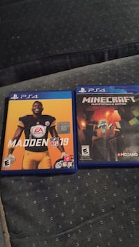 two PS4 game cases and two PS4 game cases Charlotte, 28217