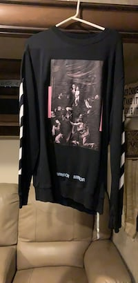 OFF WHITE Black and gray long-sleeve Langley, V3A 8N9