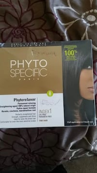 Phyto specific Paris hair relaxer