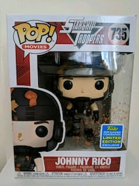 Funko Pop Johnny Rico Toronto, M4V