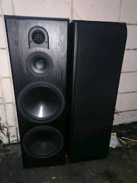 black and gray tower speaker Fullerton