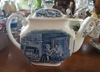 Liberty Blue Teapot Virginia Beach