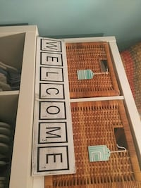 Welcome sign scrabble style letters decor picture Toronto, M1P 4V9
