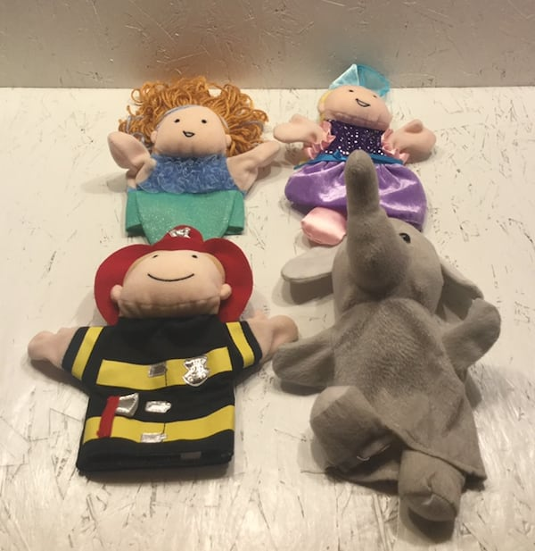 4 Hand Puppets 3 Are Manhattan Toy 6183790e-0bc4-40d3-95aa-511ace79296b