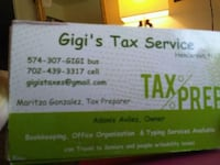 Tax Preparation 1040s Henderson, 89015