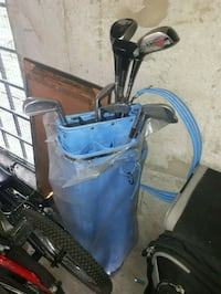 Golf clubs and bag New Westminster