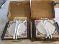 2 brand new electric plate warmers never used Arlington Heights, 60004
