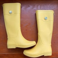 Yellow Tommy Hilfiger Rain Boots Wo size 6 Rutherford, 07070