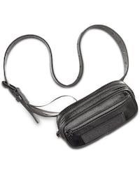 Dkny Coated Twill Belt Bag (Black, Large)