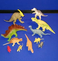 TOY DINOSAURS (BUNDLE) $10 - firm  *See ALL PICTUR Horizon City, 79928